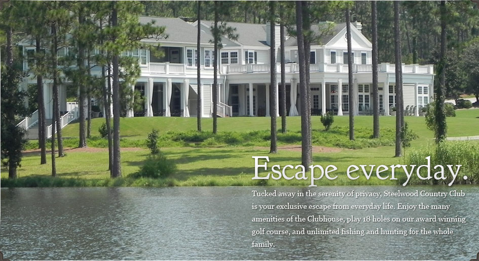 Steelwood Country Club - A secluded, lakefront, private club